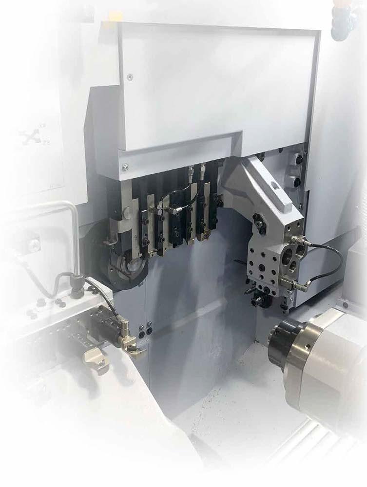 Компактное размещение токарного инструмента в резцедержателе