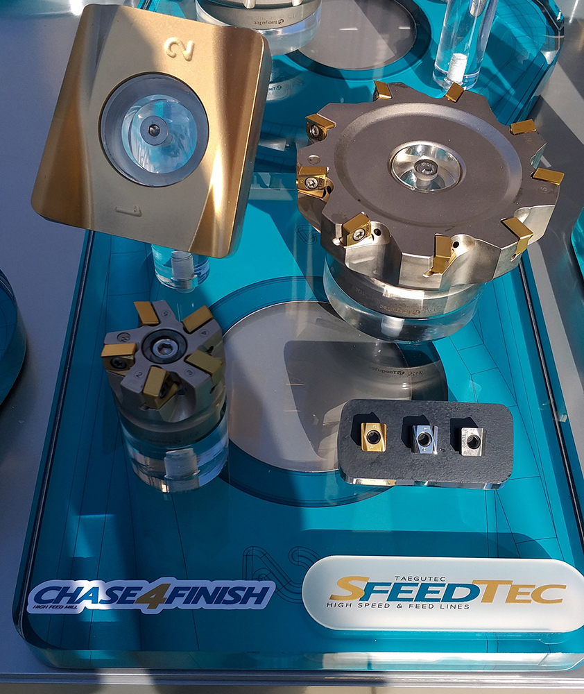 Чистовой фрезерный инструмент SfeedTec
