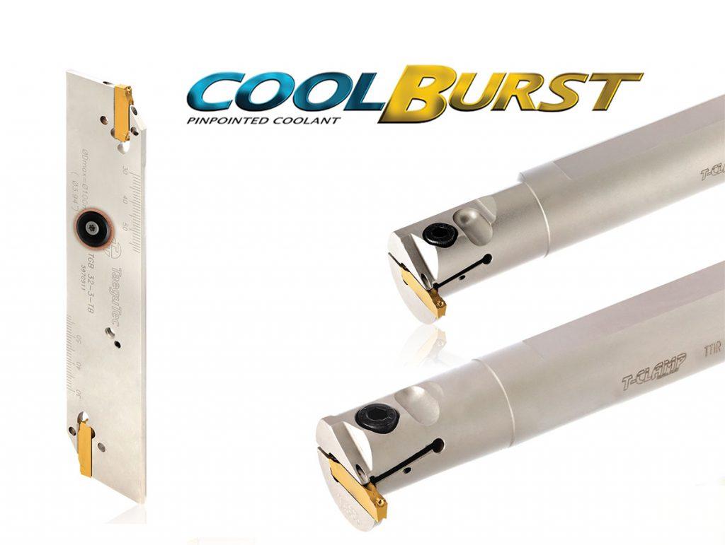coolburst: лезвия для отрезки и прорезки канавок, внутренние расточные державки